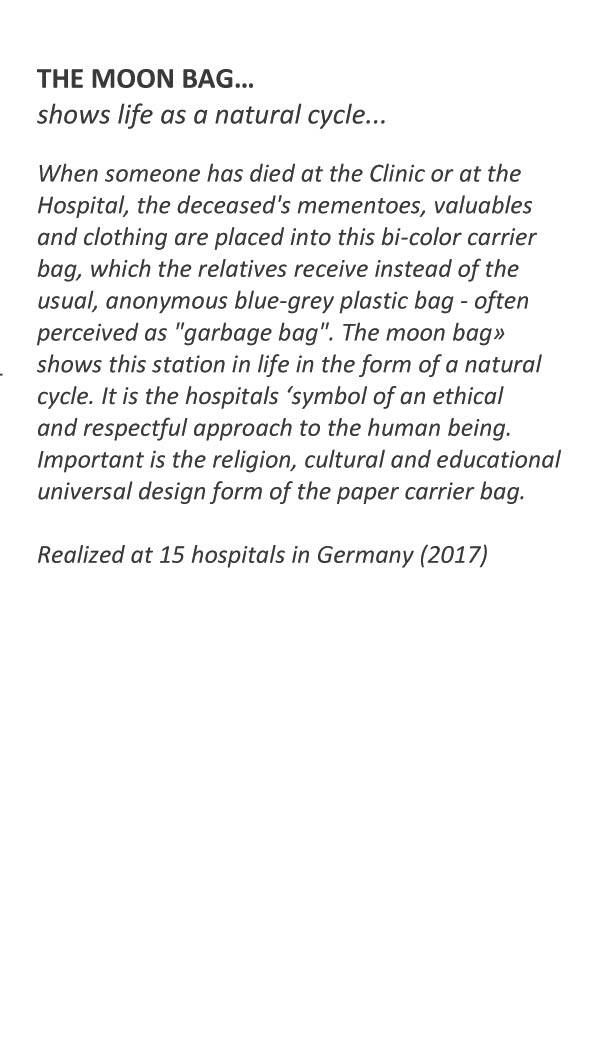 Project the moon bag for hospitals _ Raoul Marek